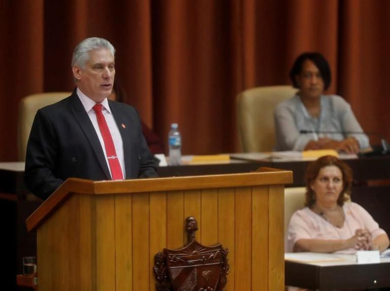 Presidente cubano llama a la unidad del pueblo frente al acoso de EEUU