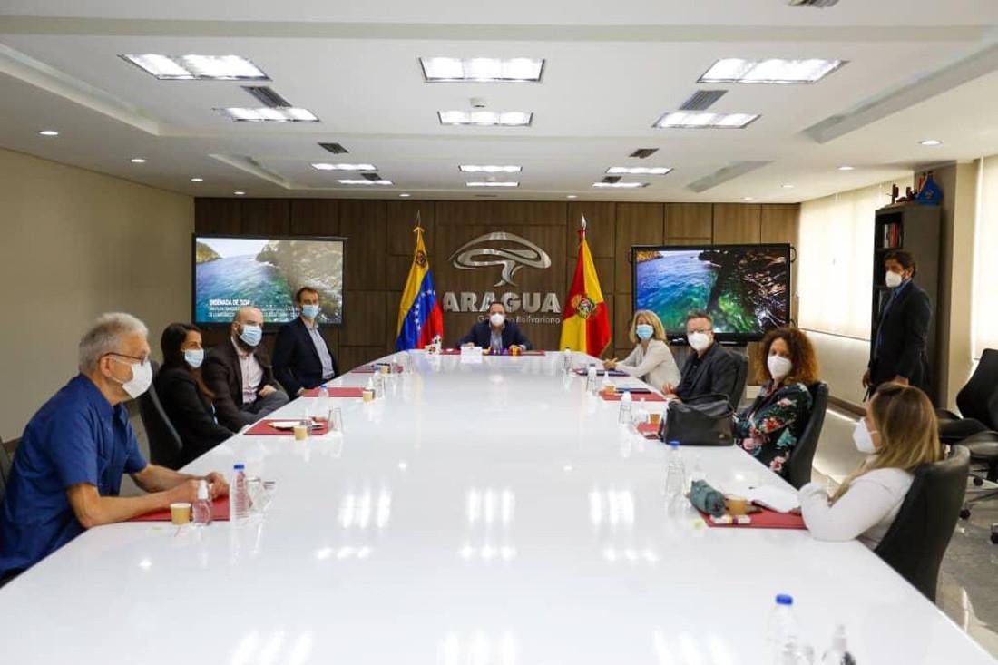 Misión técnica exploratoria de la UE visitó el estado Aragua