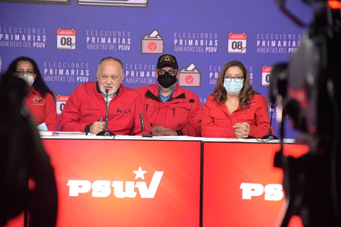 PSUV escogerá solo candidatos a gobernaciones y alcaldías en primarias del 8 de agosto