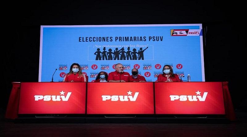 Más de 100.000 aspirantes se postularon desde las bases en las elecciones primarias del PSUV