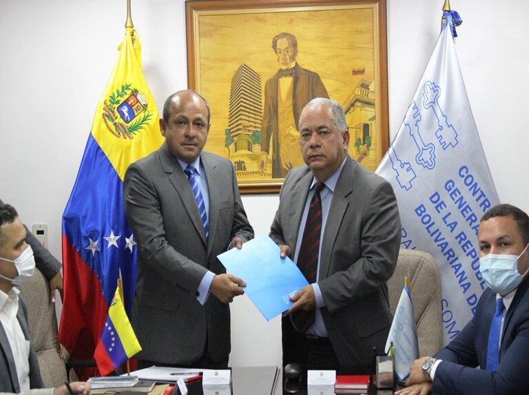 Contraloría y AN estrechan lazos de cooperación contra la corrupción