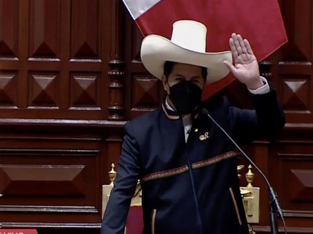 Pedro Castillo propondrá Proyecto de Ley para reformar la Constitución peruana