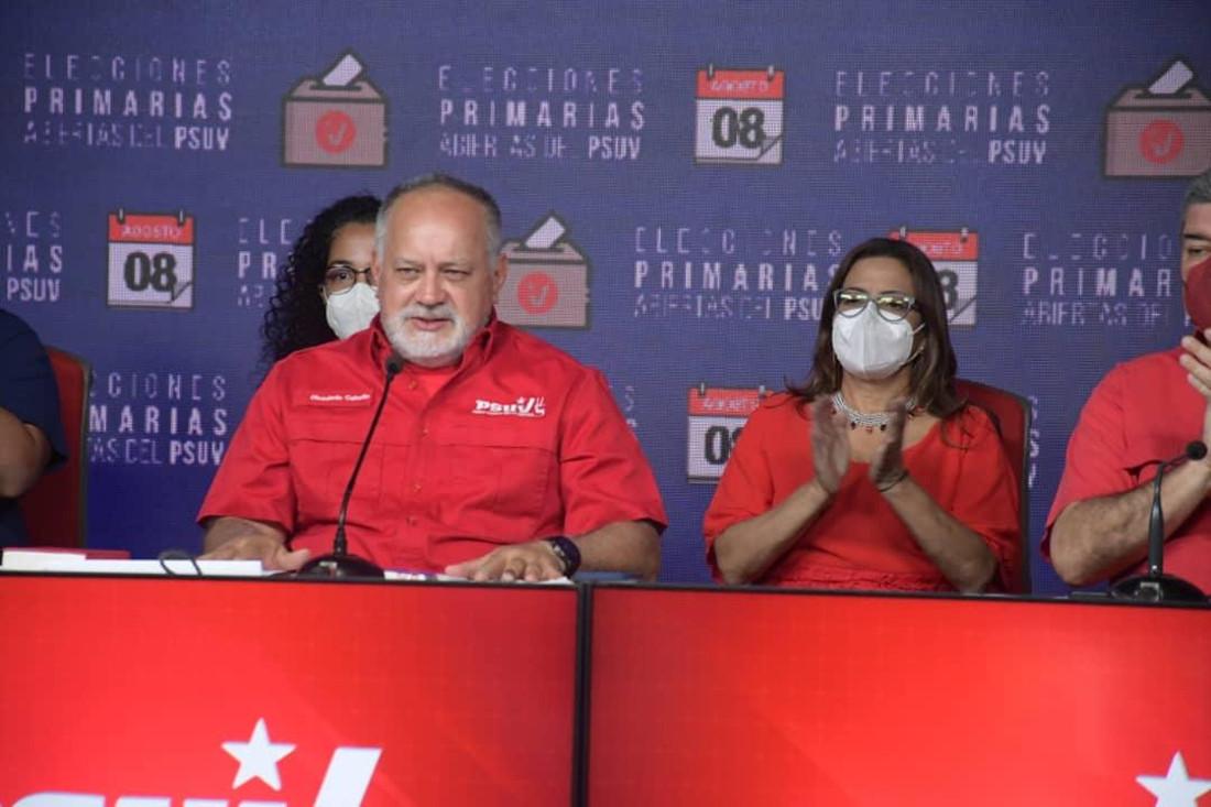 Diosdado Cabello: Proceso de primarias ampliará la unidad del PSUV