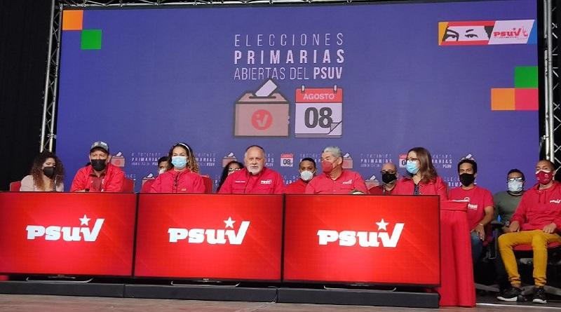 PSUV anuncia resultados de Elecciones Primarias Abiertas 2021 tras inédita jornada electoral