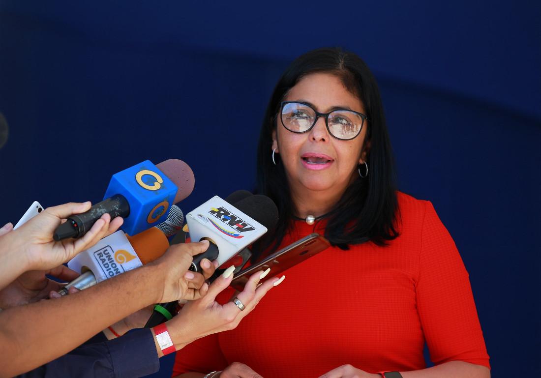 Delcy Rodríguez: Venezuela ha profundizado su democracia gracias a la Revolución Bolivariana