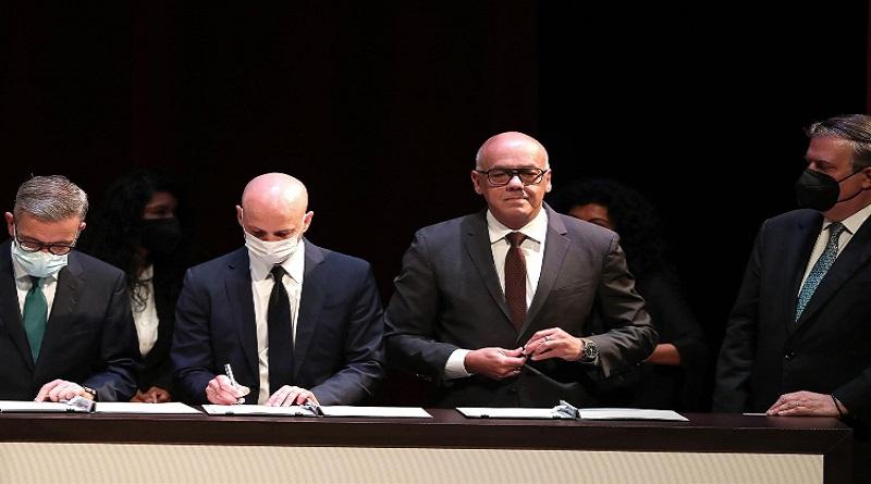Noruega difunde Declaración Conjunta del Diálogo en México