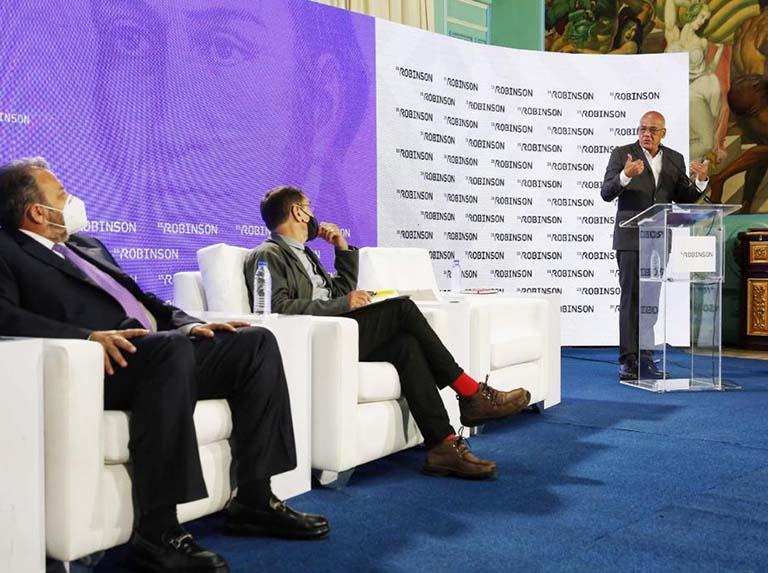 Jorge Rodríguez: la derecha se vio obligada a retomar el camino del diálogo