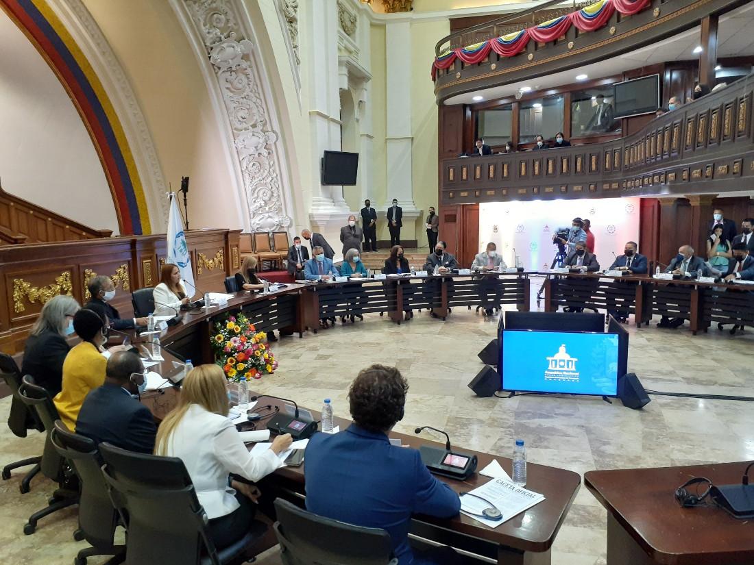 Unión Interparlamentaria conoció verdad de Venezuela