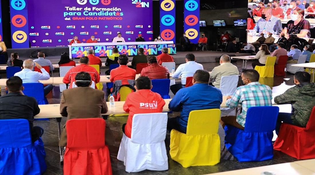 PSUV exhorta plan para motivar a militantes y activistas de partidos del GPPSB