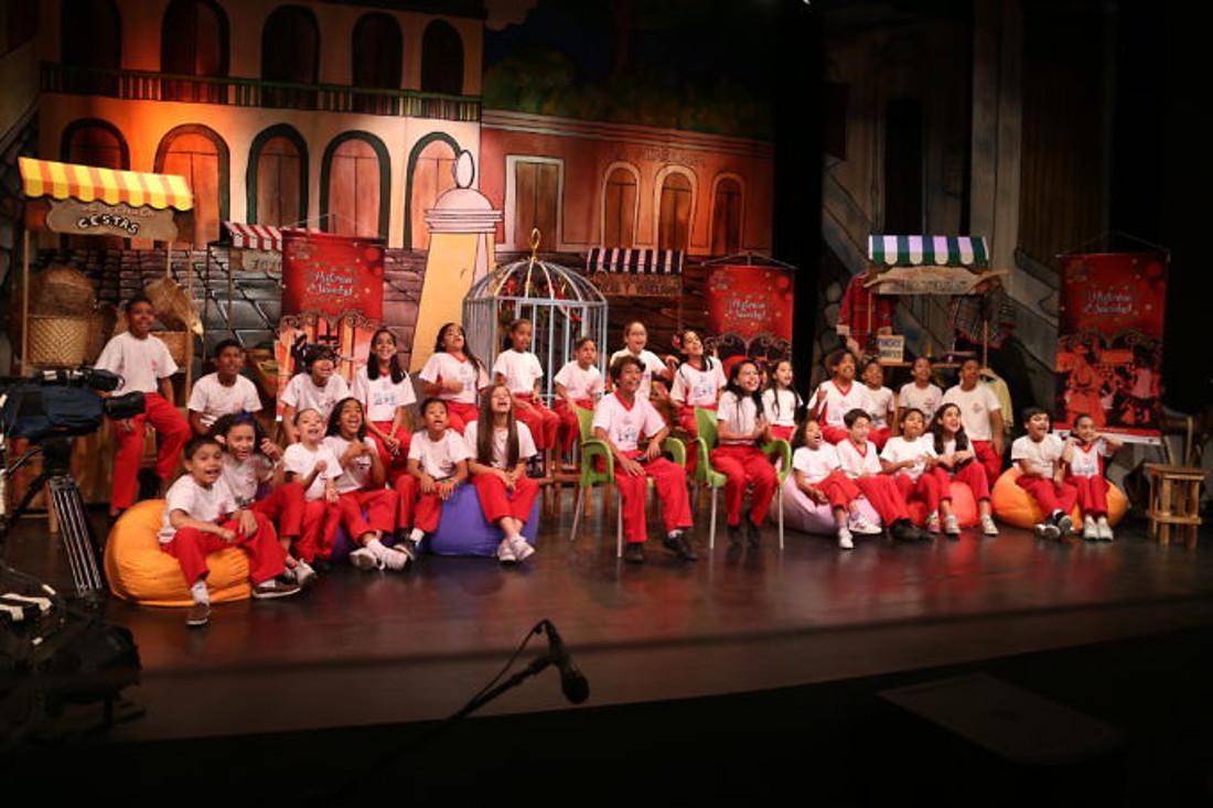 Niños del Movimiento César Rengifo ofrecieron sus aportes a Ley de Teatro