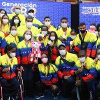 Condecorados atletas paralímpicos por su actuación en Tokio 2020